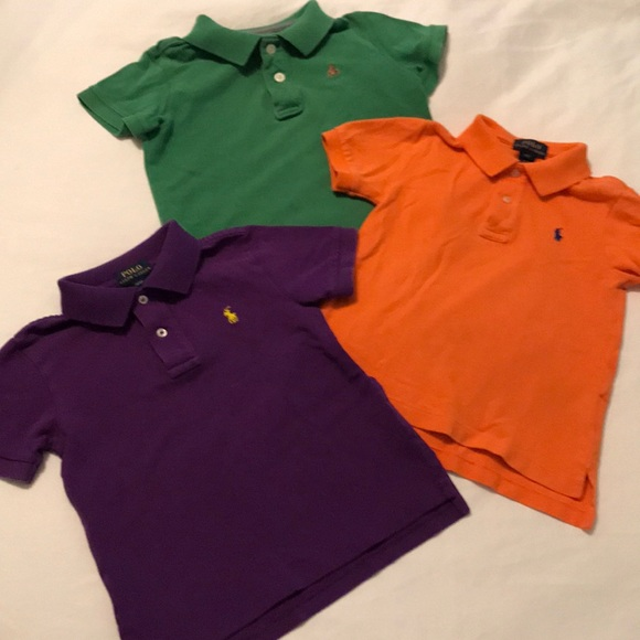 Ralph Lauren Other - Lot of 2 Ralph Lauren Polo 1 Gap Kids shirts Sz 3T